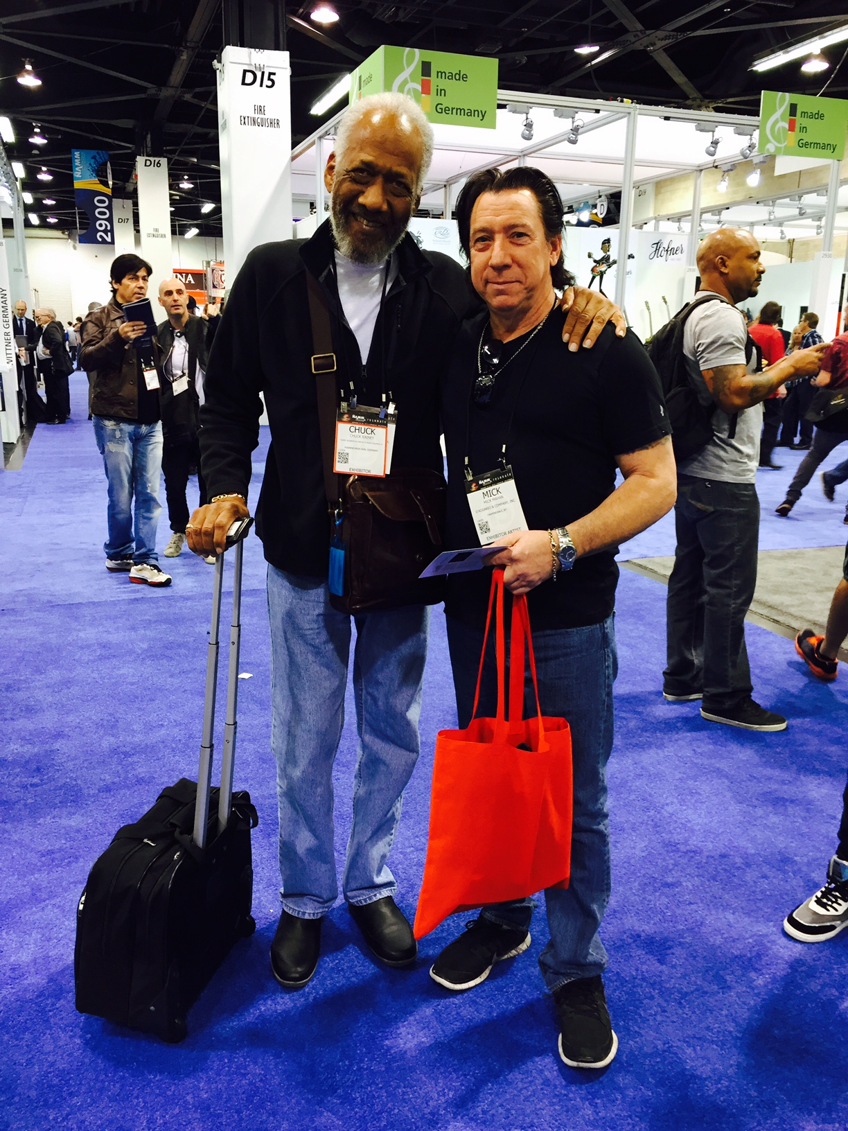 Mr. Chuck Rainey & Mick. 2 guys from Youngstown